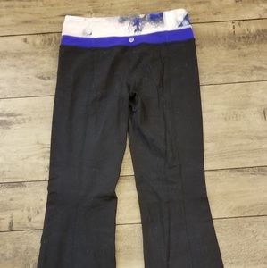 Lululemonwomen's workout / exercise pants sz 4